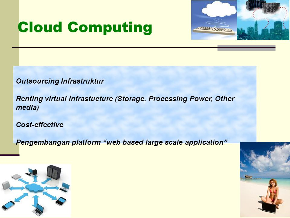 Cloud Computing Outsourcing Infrastruktur