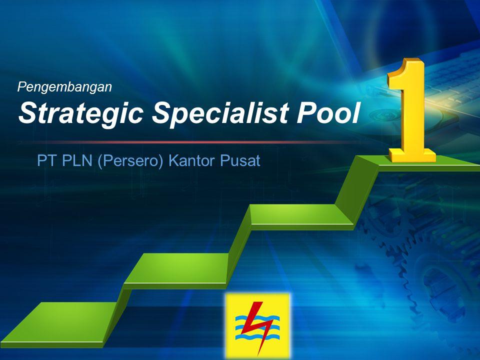 Pengembangan Strategic Specialist Pool