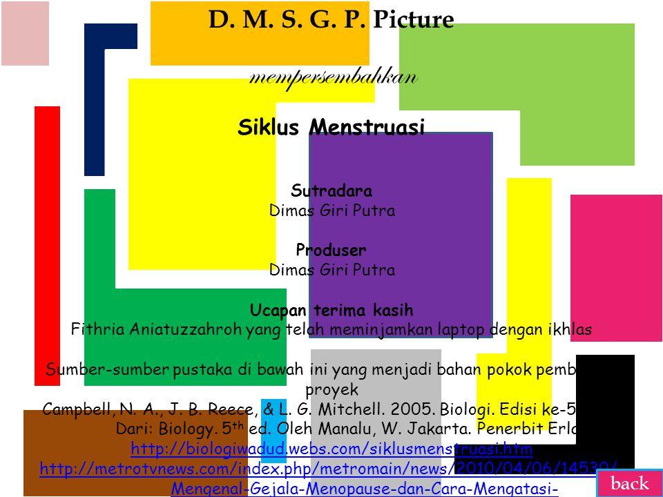 mempersembahkan D. M. S. G. P. Picture Siklus Menstruasi back