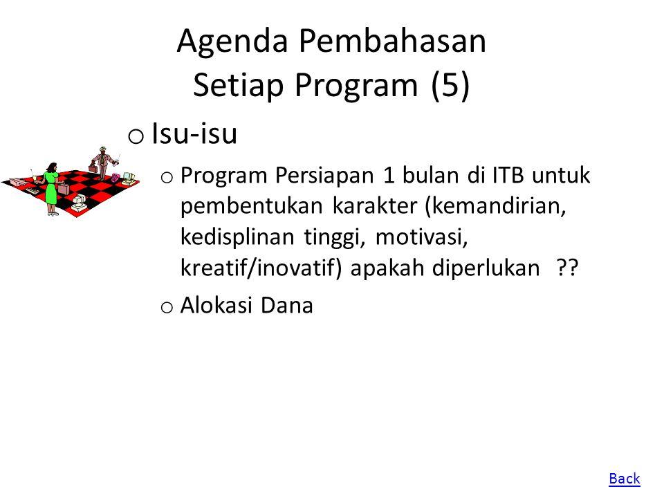 Agenda Pembahasan Setiap Program (5)
