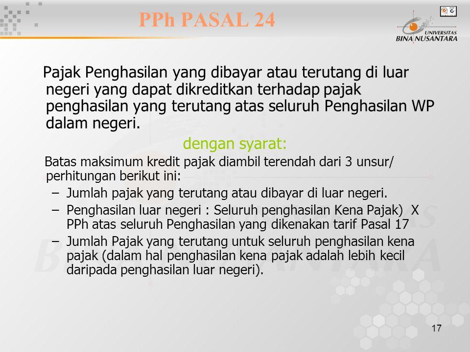 PPh PASAL 24