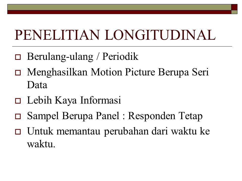 PENELITIAN LONGITUDINAL