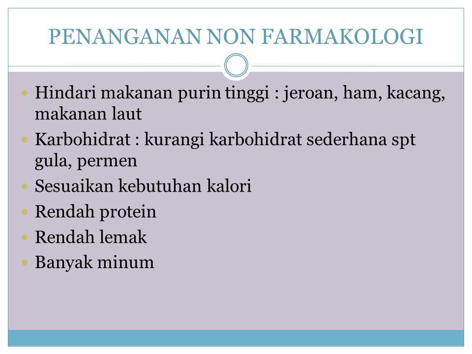 PENANGANAN NON FARMAKOLOGI