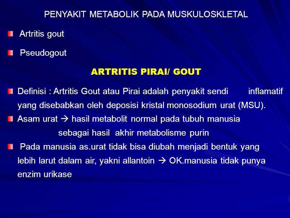 PENYAKIT METABOLIK PADA MUSKULOSKLETAL