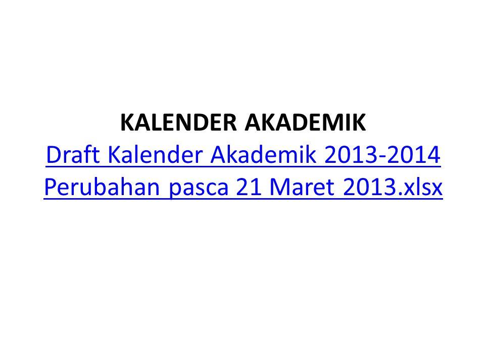 KALENDER AKADEMIK Draft Kalender Akademik 2013-2014 Perubahan pasca 21 Maret 2013.xlsx