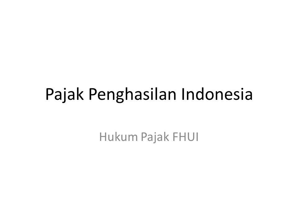 Pajak Penghasilan Indonesia