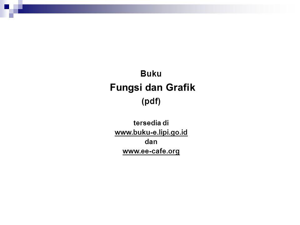 Fungsi dan Grafik Buku (pdf) tersedia di www.buku-e.lipi.go.id dan