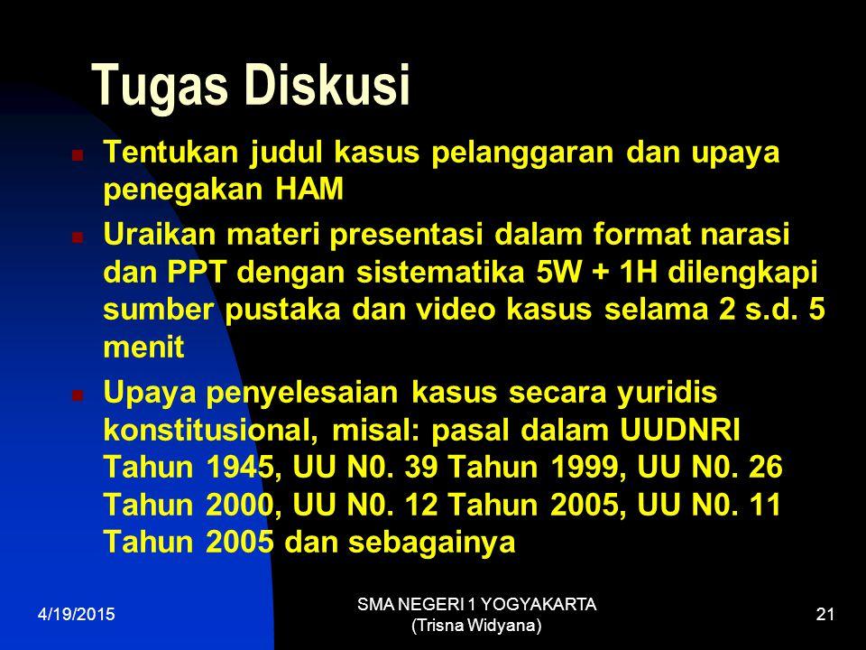 SMA NEGERI 1 YOGYAKARTA (Trisna Widyana)