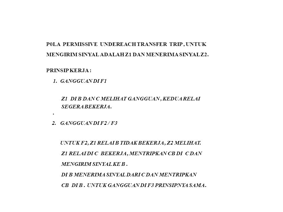 P0LA PERMISSIVE UNDEREACH TRANSFER TRIP , UNTUK