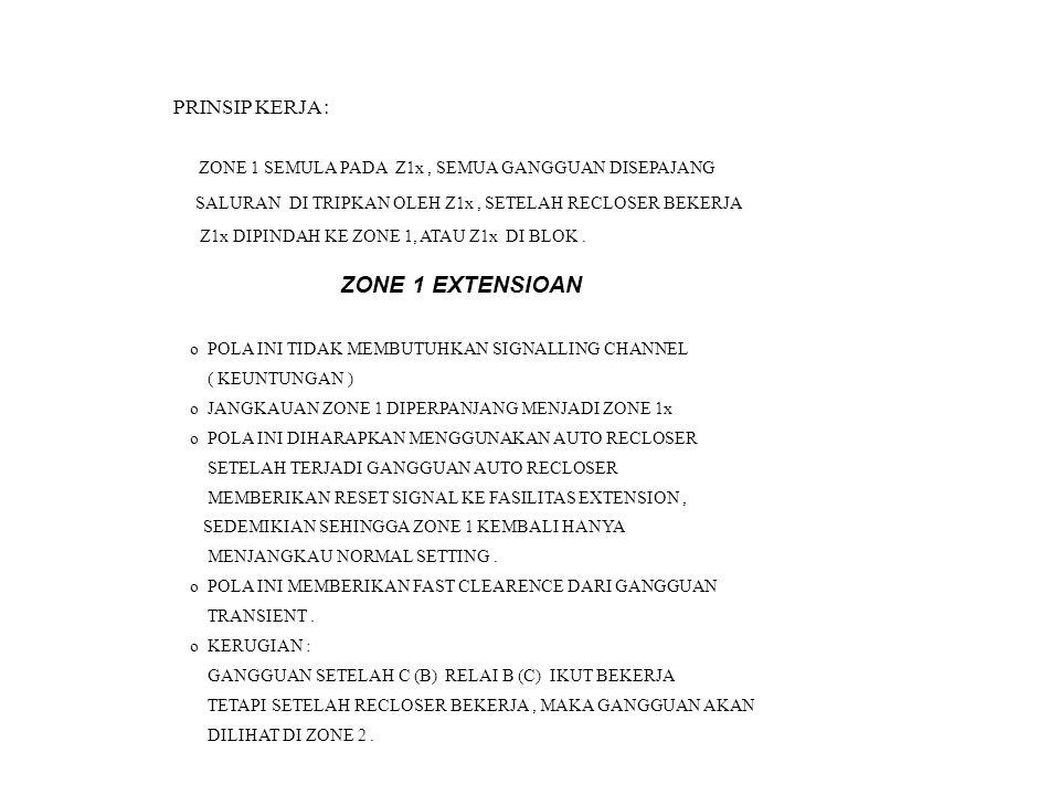 ZONE 1 EXTENSIOAN PRINSIP KERJA :