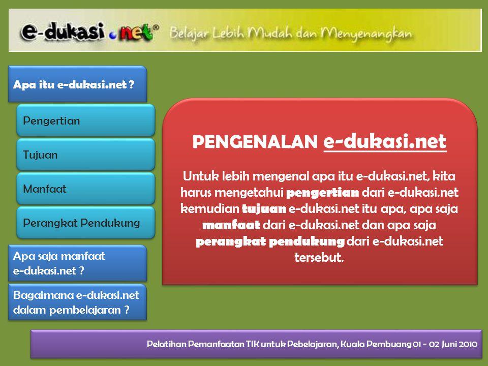 PENGENALAN e-dukasi.net