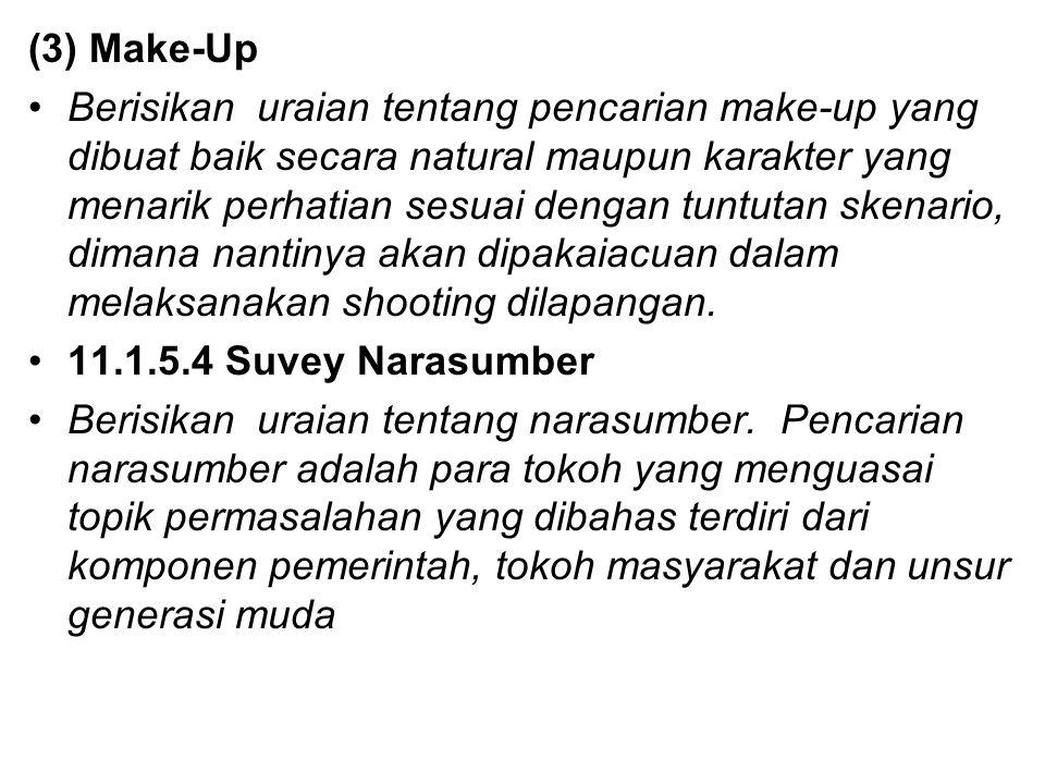 (3) Make-Up