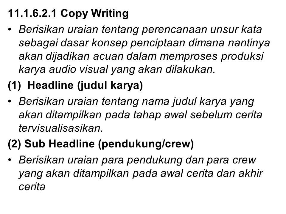 11.1.6.2.1 Copy Writing