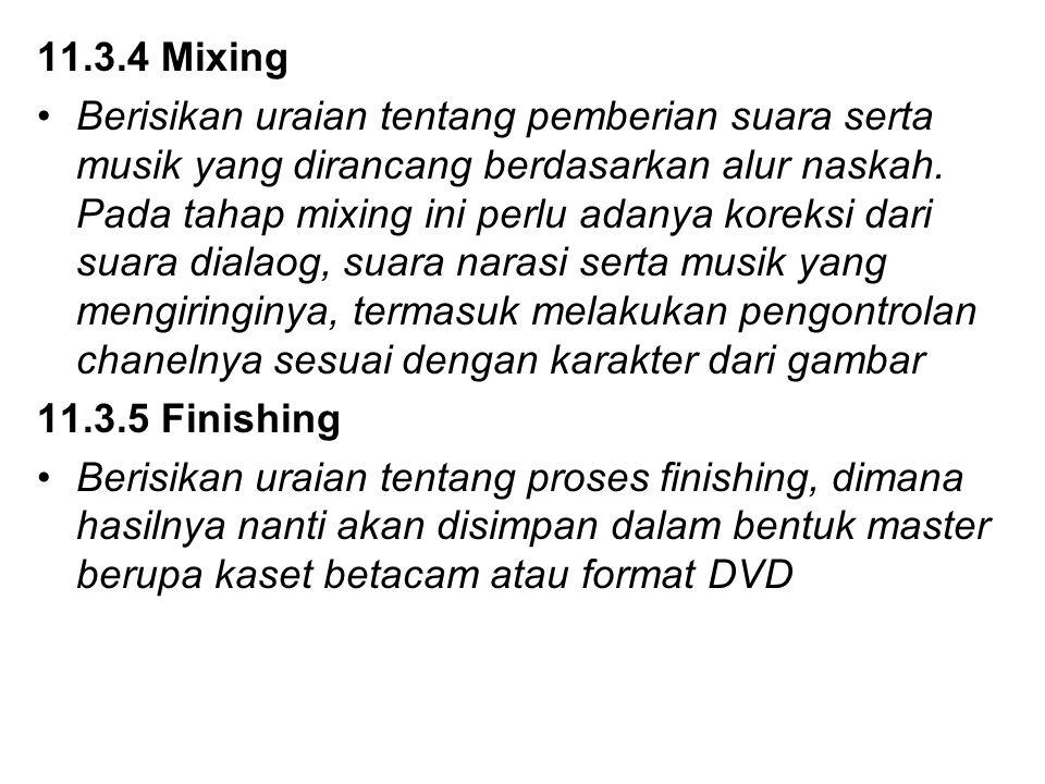 11.3.4 Mixing