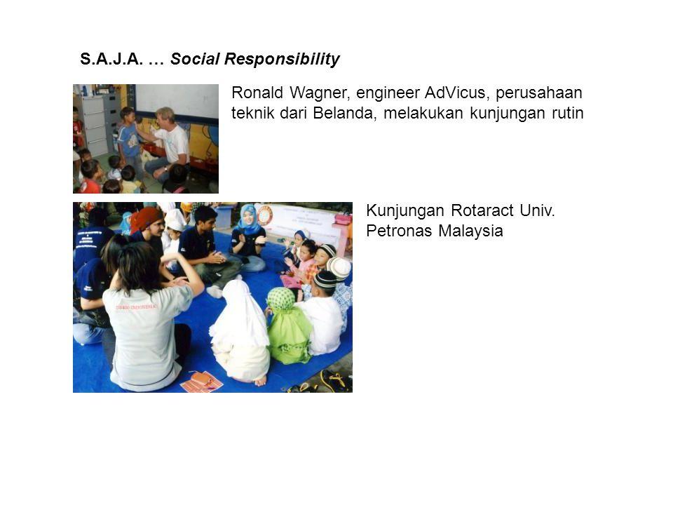 S.A.J.A. … Social Responsibility