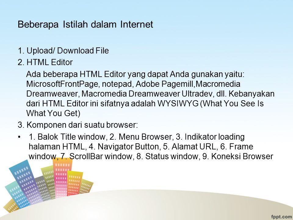 Beberapa Istilah dalam Internet