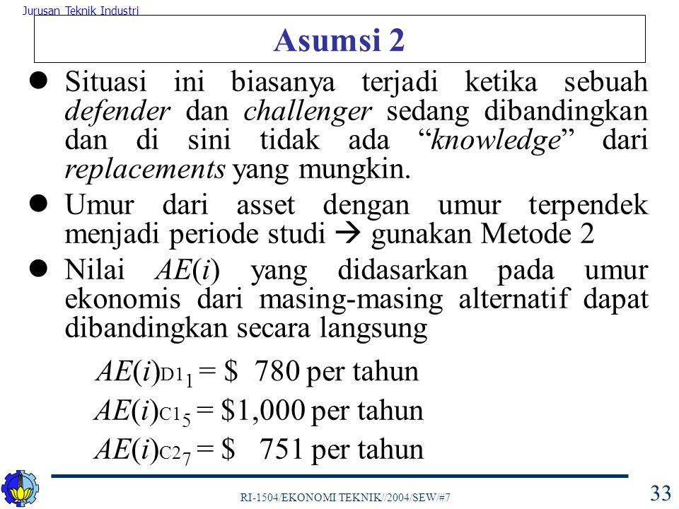 Asumsi 2