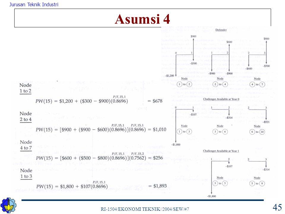 Asumsi 4
