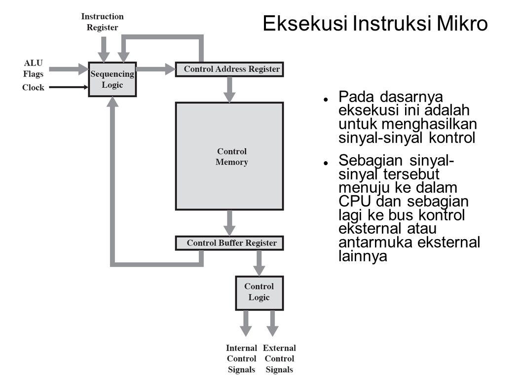 Eksekusi Instruksi Mikro