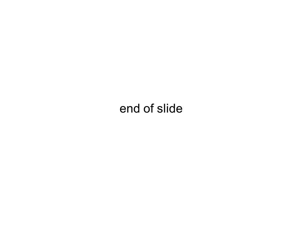 end of slide 29