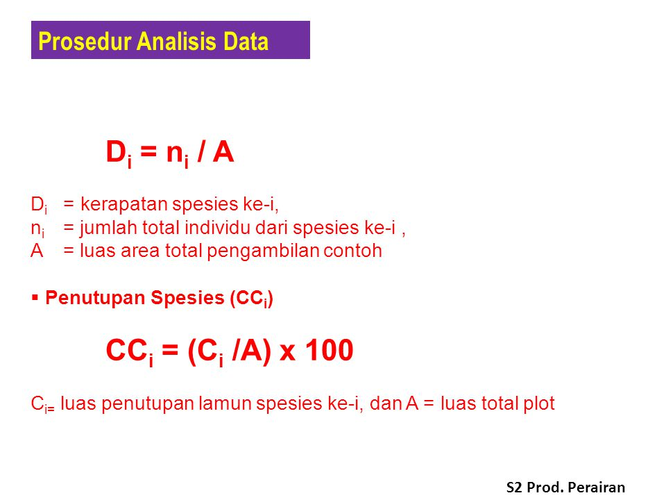 Prosedur Analisis Data