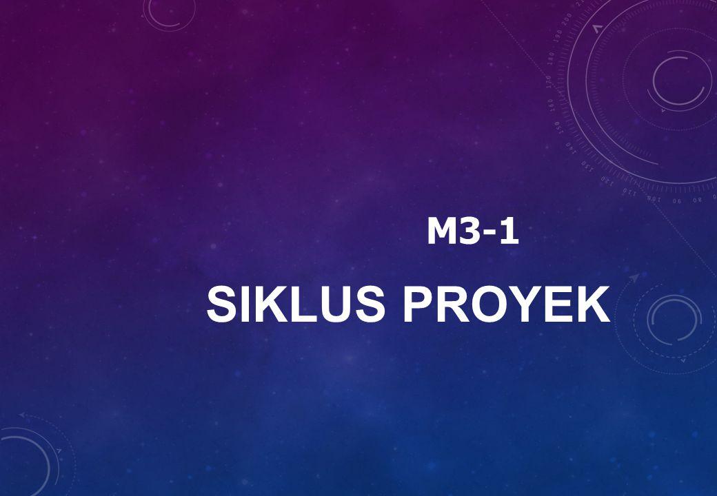 M3-1 SIKLUS PROYEK