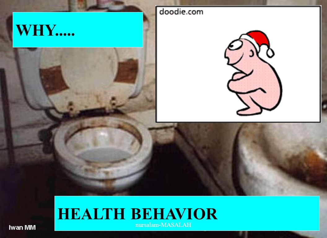 WHY..... HEALTH BEHAVIOR nursalam-MASALAH