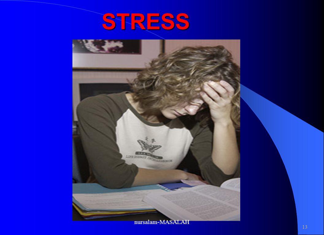 STRESS nursalam-MASALAH 13 1- 13