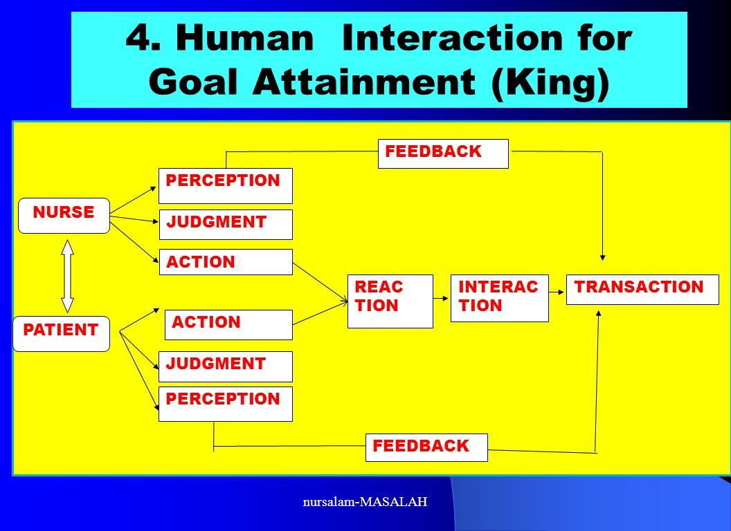 4. Human Interaction for Goal Attainment (King)