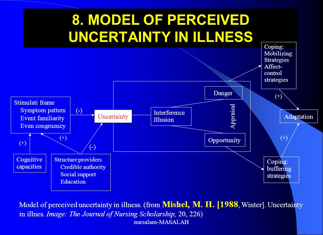 8. MODEL OF PERCEIVED UNCERTAINTY IN ILLNESS
