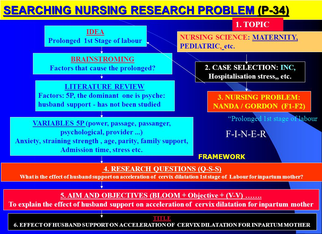 SEARCHING NURSING RESEARCH PROBLEM (P-34)