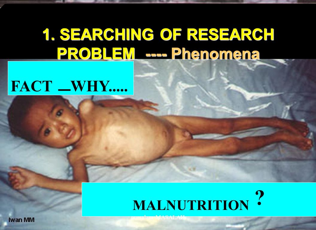 1. SEARCHING OF RESEARCH PROBLEM ---- Phenomena