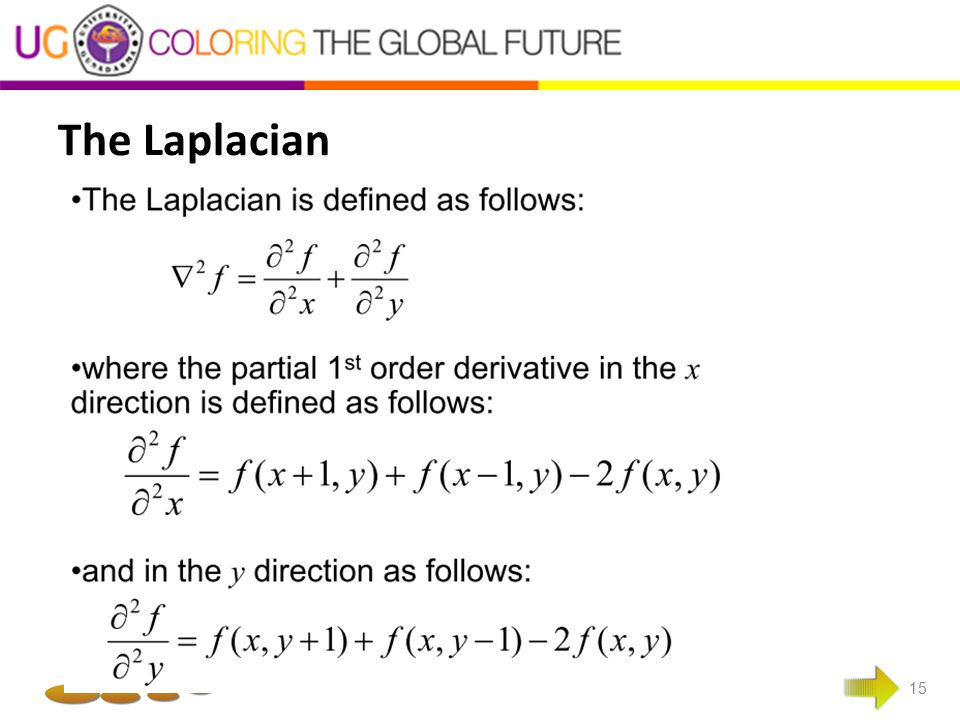 The Laplacian