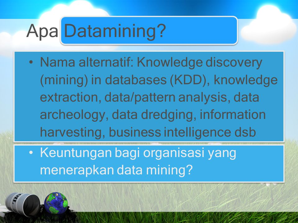 Apa Datamining