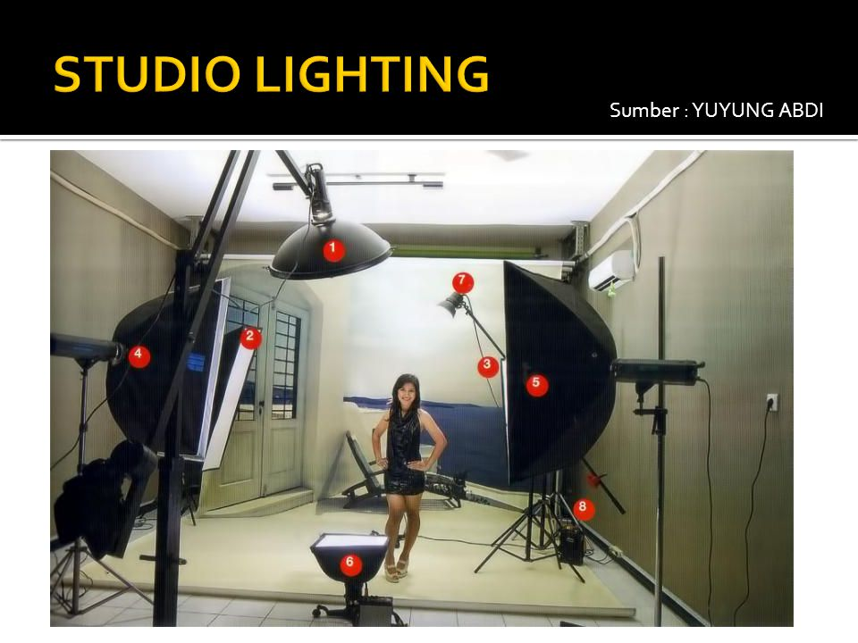 STUDIO LIGHTING Sumber : YUYUNG ABDI