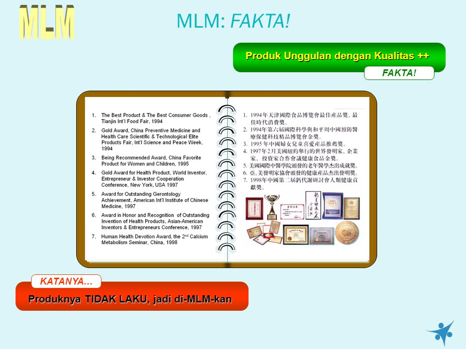 MLM MLM: FAKTA! Produk Unggulan dengan Kualitas ++