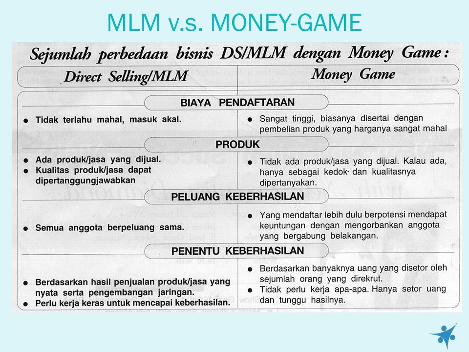 Bisnis DS/MLM Bukan Usaha Melipat-gandakan Uang