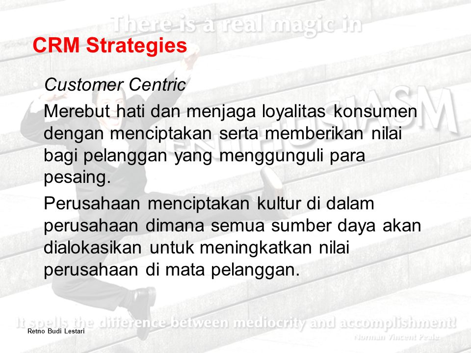 CRM Strategies Customer Centric