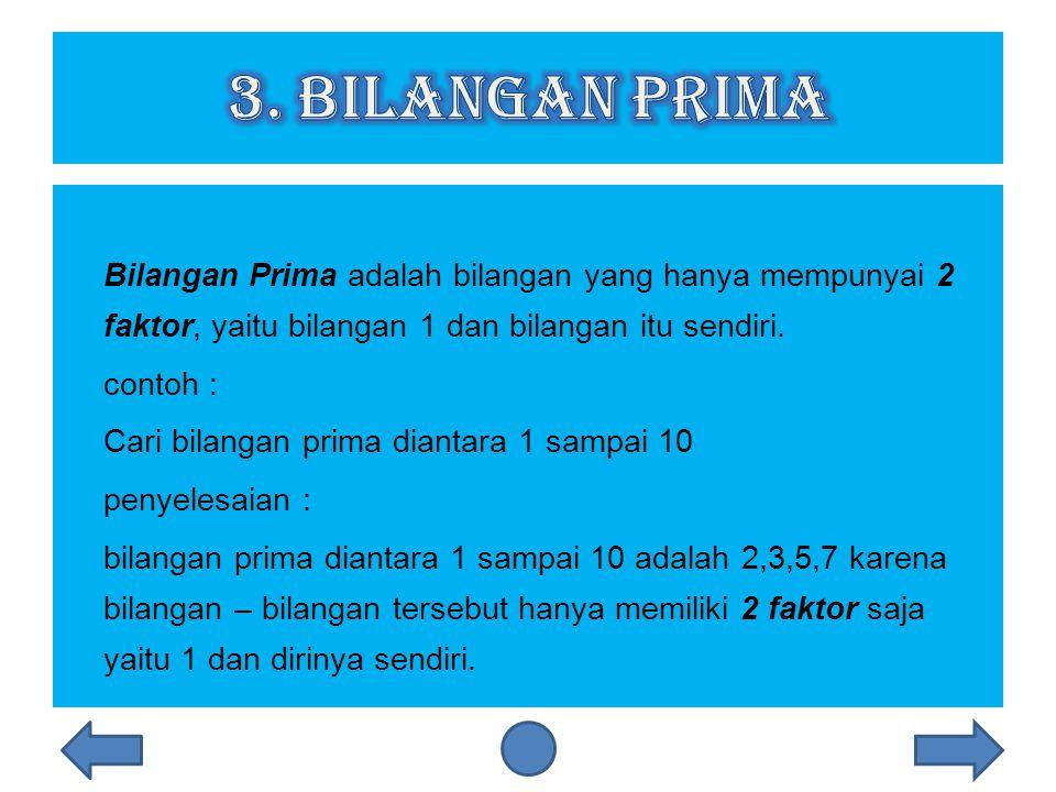 3. Bilangan prima