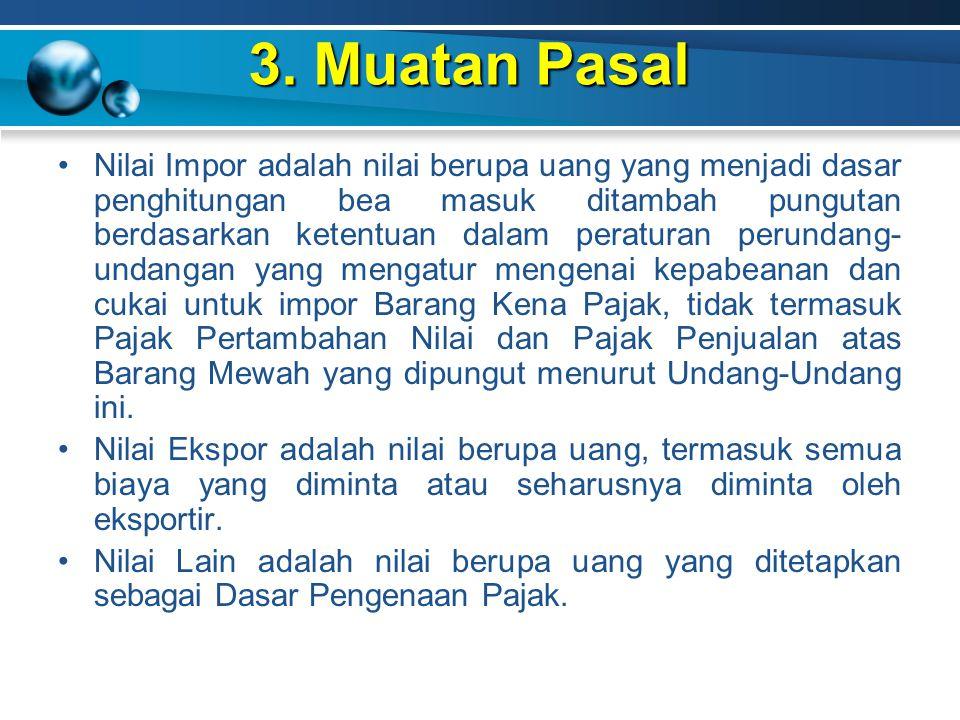 3. Muatan Pasal