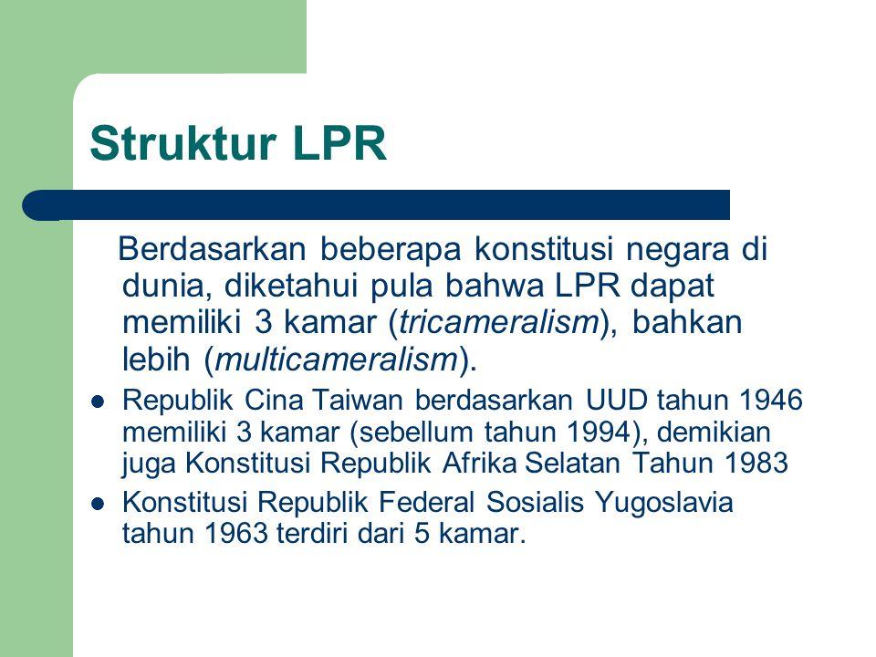 Struktur LPR