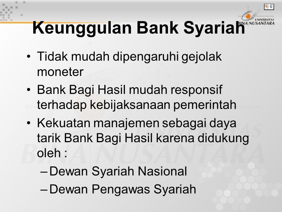 Keunggulan Bank Syariah