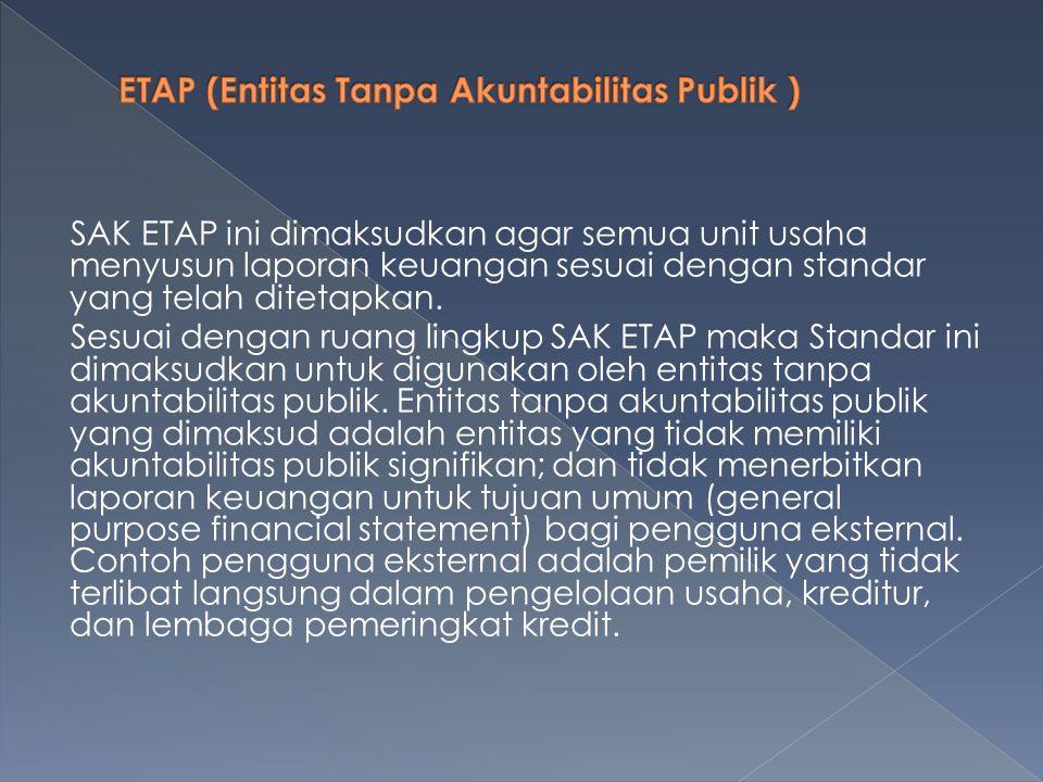ETAP (Entitas Tanpa Akuntabilitas Publik )