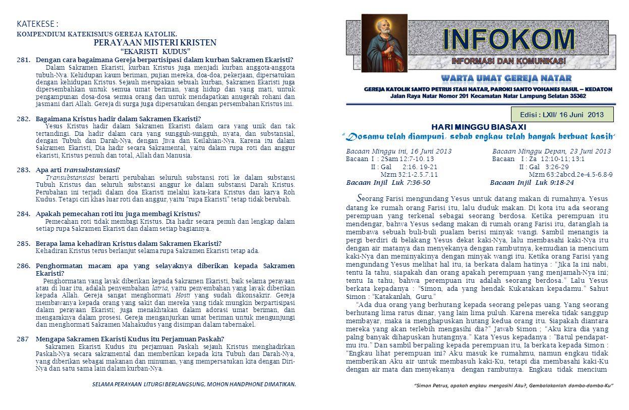 PERAYAAN MISTERI KRISTEN