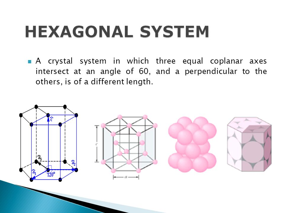 HEXAGONAL SYSTEM