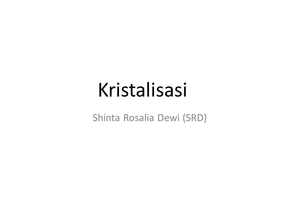 Shinta Rosalia Dewi (SRD)