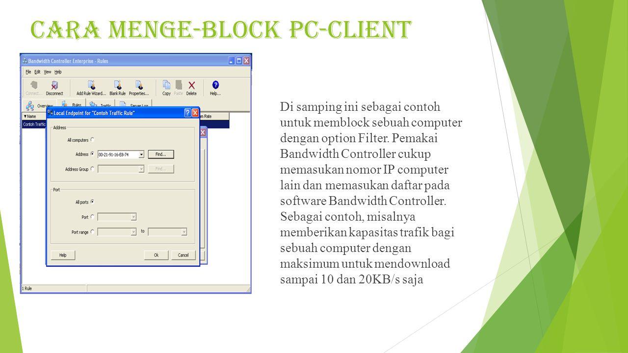 CARA MENGE-BLOCK PC-CLIENT