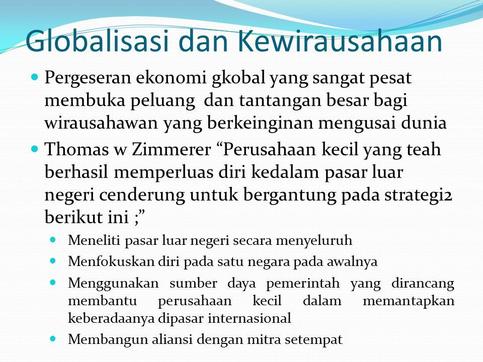 Globalisasi dan Kewirausahaan