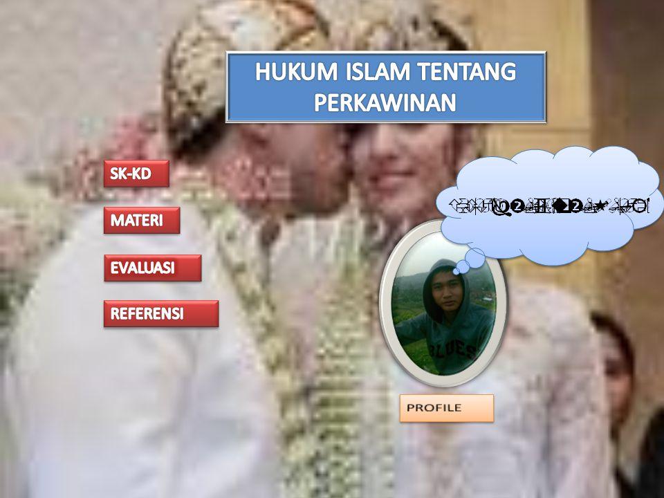HUKUM ISLAM TENTANG PERKAWINAN