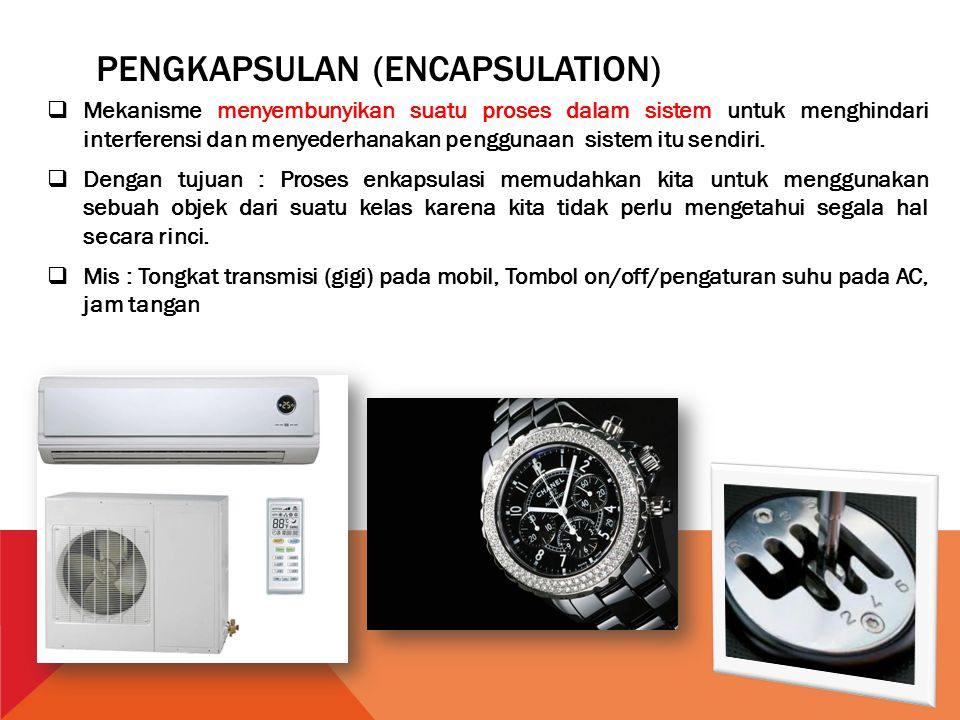 Pengkapsulan (Encapsulation)